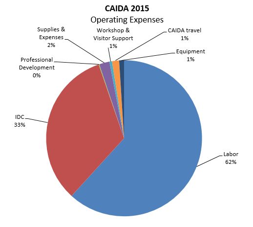 CAIDA's Annual Report For 2015
