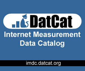 DatCat: The Internet Measurement Data Catalog